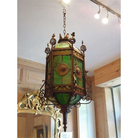 lanterne exterieure fer forge lanterne hexagonale de bodart xixe fer forg 233 1878 havas antiquites