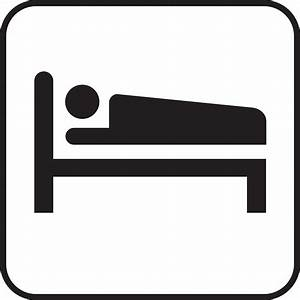 Free Hotel Bed Icon