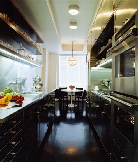 House By Mr Architecture Decor by Stainless Steel Galley Kitchen Modern Kitchen Mr
