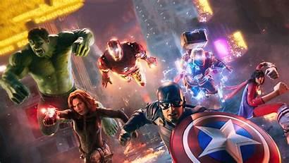 Avengers Marvel 4k Wallpapers Assemble Ultra Abyss