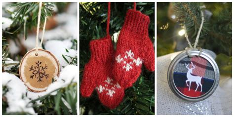 48 homemade christmas ornaments diy crafts with tree