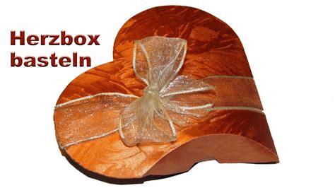 geschenkbox basteln geschenkverpackung fuer zb