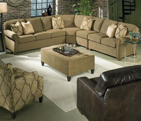 brighton 4 customizable sectional by king hickory