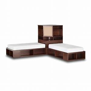 Pbteen design your room, twin beds with corner unit corner