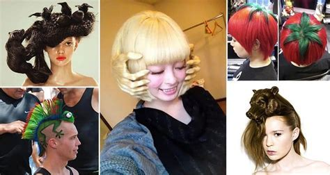 15 Crazy But Fun Hairstyles You Won't Believe Are Real