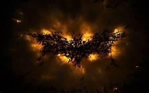 The Dark Knight Rises Batman Movie Abstract Logo Wallpaper ...