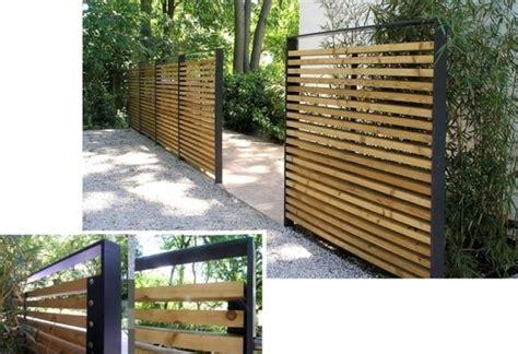Sichtschutz Holz Modern