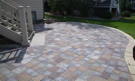 landscaping paver ideas square concrete paver patio