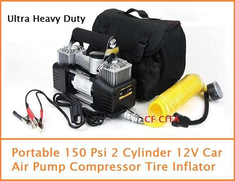 Portable 150 Psi Twin Cylinder Air (end 5/14/2018 12