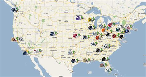 nfl team map high size nfl