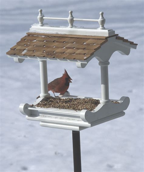 victorian style birdfeeder woodworking plan  wood magazine