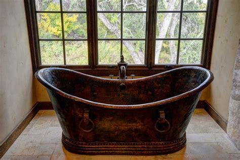 rustic bath tubs hand hammered copper bathtubs rustic bathtubs houston by casa castillo
