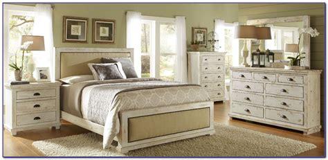 Antique White Distressed Bedroom Furniture