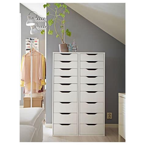ikea shelf with drawers alex drawer unit with 9 drawers white 36x116 cm ikea