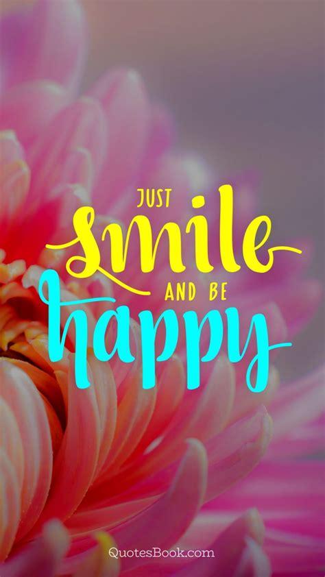 smile   happy quotesbook