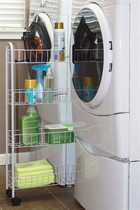 Laundry Room Carts: 12 Mobile and Space Savvy Ways to