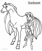 hd wallpapers horseland coloring pages sunburst - Horseland Coloring Pages Sunburst