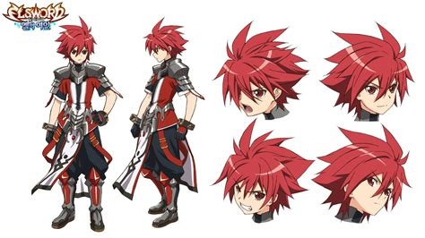 elsword anime character concept for anime el which is based on the