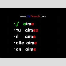 30 Best French  Grammar (present Tense) Images On Pinterest  French Verbs, French Grammar And