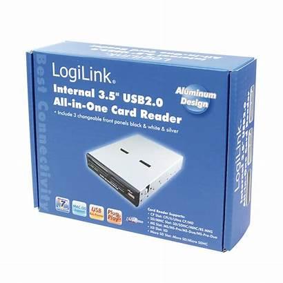 Logilink Usb Intern Reader Card 5inch Verpackung
