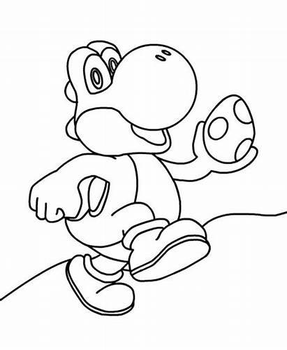 Coloring Yoshi