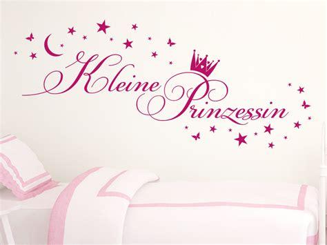 Wandtattoo Kinderzimmer Mädchen Prinzessin by Wandtattoo Kleine Prinzessin Mit Sternen Wandtattoo De