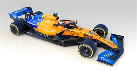 2019 mclaren f1 mclaren unveil their 2019 formula 1 car f1 hub