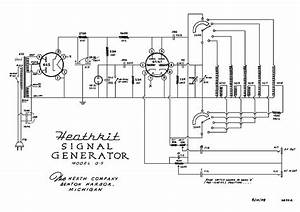 Heathkit G5 Signal Generator Sch Service Manual Download