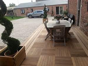 Terrasse En Caillebotis : terrasse caillebotis bois ~ Premium-room.com Idées de Décoration