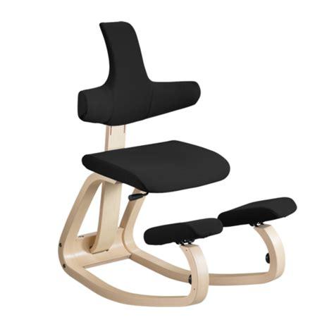 si鑒e ergonomique varier sièges ergonomiques mal de dos fauteuil assis genoux thatsit balans mobilier de bureau entrée principale