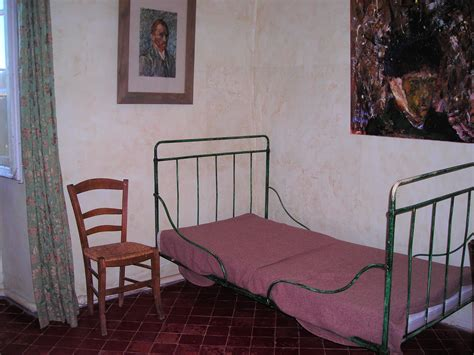 photographie à la chambre chambre de vincent gogh à paul de mausole sur