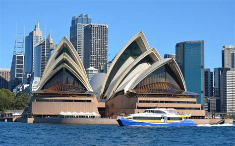 House Boat Sydney by Sydney Opera House Australia And The Manly Fast Ferry