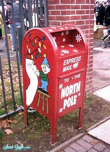 express mail to the north pole mailboxes pinterest With letters to santa mailbox for sale