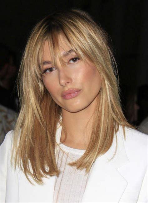 bangs blonde hairstyle hair makeup pinterest hair