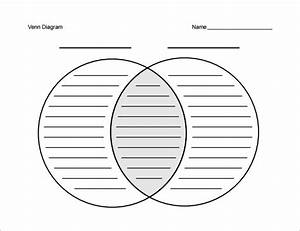 7  Blank Venn Diagram Templates