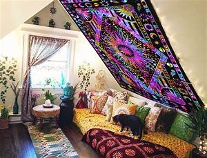 Hippie tapestry wall hanging home decor