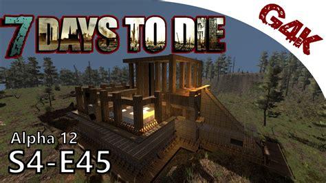 7 Days To Die Home Design : 7 Days To Die Alpha 12 Gameplay