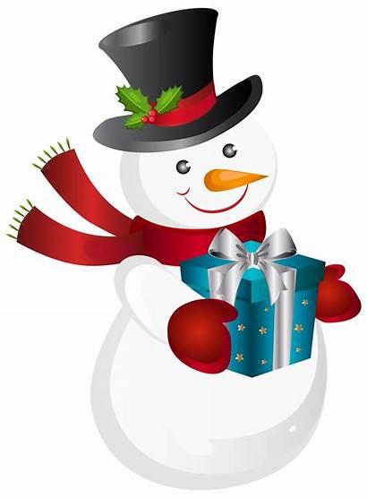 Transparent Christmas Clipart Background Clip Library Snowman