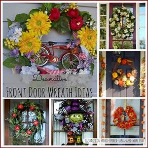 Decorative Front Door Wreaths - Perfect Year Round
