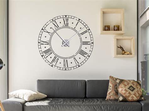 Wandtattoo Uhr Kinderzimmer by Wandtattoo Vintage Uhr Wandtattoo Wanduhr Wandtattoos De