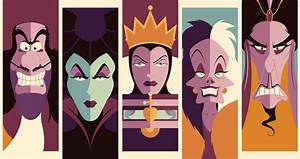 Amazing submissions for Threadless Disney Villains challenge