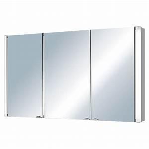 Spiegelschrank 3 Türig Mit Beleuchtung : riva spiegelschrank torno breite 120 cm 3 t rig mdf mit beleuchtung energieeffizienzklasse ~ Bigdaddyawards.com Haus und Dekorationen