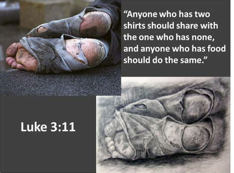 Homeless Quotes Bible