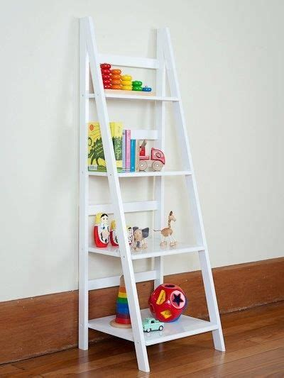 Childrens Bookcase Ikea by Ladder Shelf White Or Black Ladder Shelf Mocka Storage