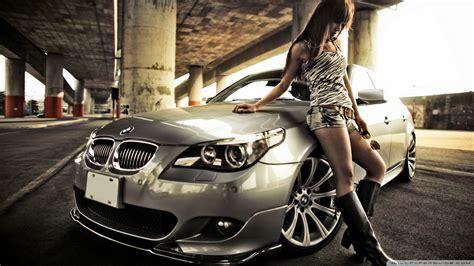 bmw  hot woman wallpaper