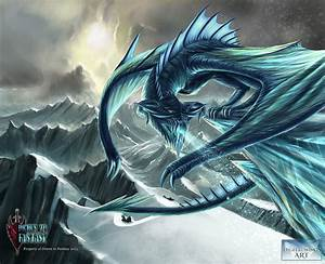 Ancient Ice Dragon - Digital Wings Art Comp by ...