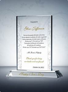 Happy Boss s Day Plaque