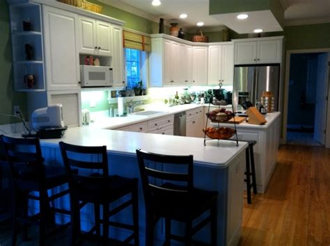 images   narrow  shaped kitchen remodel