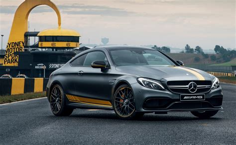 2016 Mercedes-amg C63 S Coupe Track Review