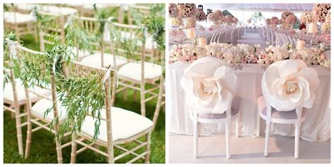 10 Cool & Unique Ways to Decorate your Wedding Chairs